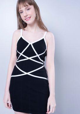 Vestido-Bandagem-Listras-Transpasse