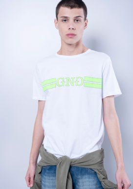Camiseta-Manga-Curta-GNG-Verde-Neon