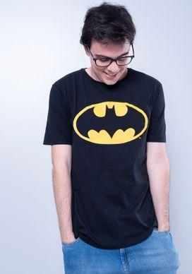 Camiseta-Manga-Curta-Preta-Batman