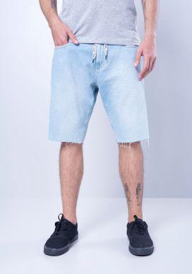 Bermuda-Jeans-Azul-Claro-Bigodes