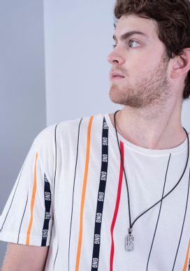 Camiseta-Manga-Curta-Alongada-Listras