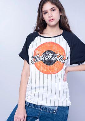 Camiseta-Manga-Curta-Looney-Tunes-Raglan