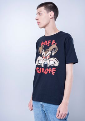Camiseta-Manga-Curta-Looney-Tunes-Coyote