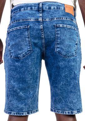 Bermuda-Jeans-Marmorizada
