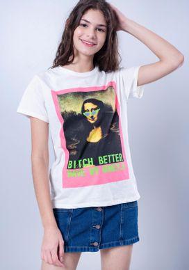 Camiseta-Estampada-Manga-Curta-Monalisa