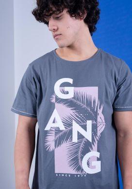 Camiseta-Cinza-Gang-Folhagem---Geometrico-Rosa