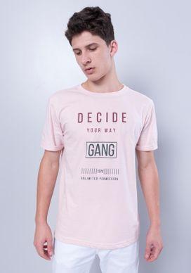 Camiseta-Manga-Curta-Rosa
