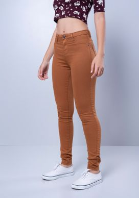 Calca-Jeans-Super-Power-Cintura-Alta-Skinny---Camel
