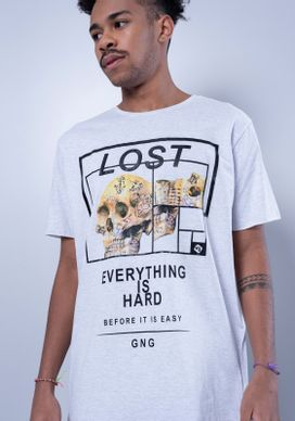 Camiseta-Alongada-Lost-Skull