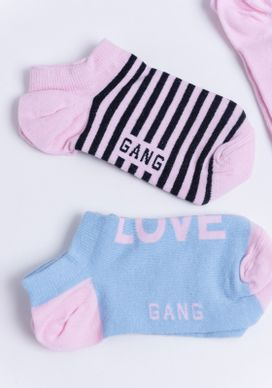 Kit-Meias-Estampadas-Cano-Curto-Love