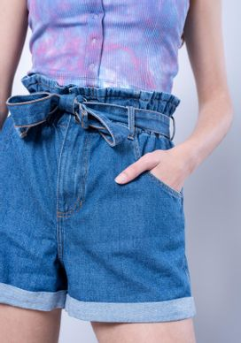 Short-Jeans-Clochard-Azul-Medio