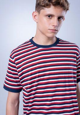 Camiseta-Listrada