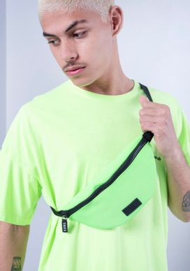 Camiseta-Manga-Curta-Verde-Neon-Lost-Youth