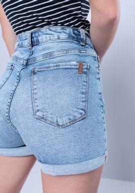 Short-Jeans-Cintura-Alta-Marmorizado