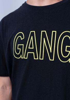 Camiseta-Estampada-Manga-Curta-Alongada-Preta-Gang-Masculina