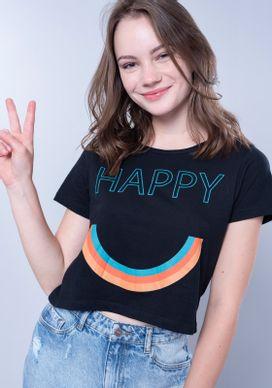 Blusa-Cropped-Preta-Happy