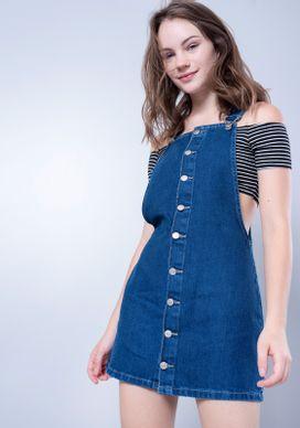 Salopete-Jeans-Azul-Escuro-Botoes
