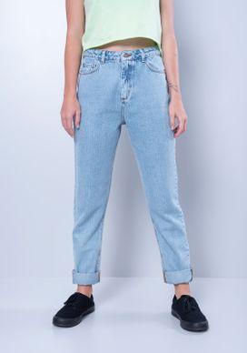 Calca-Mom-Jeans-Cintura-Alta-Azul-Claro-Gang-Feminina