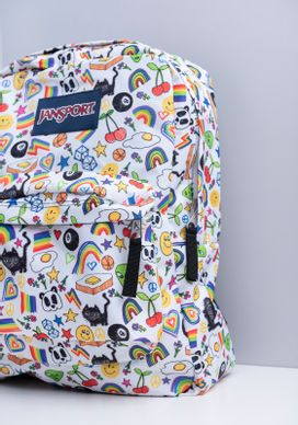 Mochila-Estampada-Fun-Branca-Jansport-Unissex