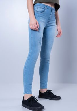 Calca-Jeans-Cigarrete-Cintura-Media-Push-Up-Azul-Clara-Gang-Feminina