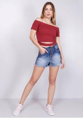 Short-Jeans-Clochard-Botoes