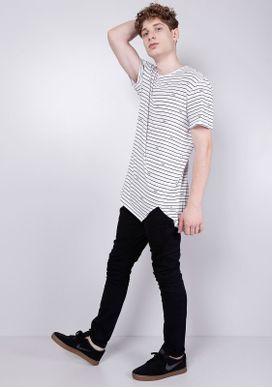 Camiseta-Alongada-Branca-Listras---Gang-76-Branco-PP