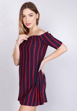 Vestido-Ciganinha-Listras-Azul-Marinho-Vermelho-PP