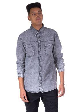 Camisa-Jeans-Black-Delave-Marmo-Preto-P-