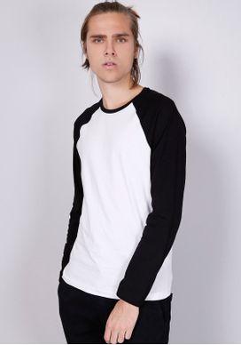 Camiseta-Basica-Manga-Longa-Raglan-Branca-Gang-Masculina-Branco-P