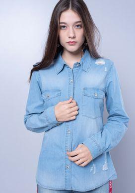 Camisa-Jeans-Manga-Longa-Rasgos-e-Bolsos-Azul-G