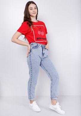 Camiseta-Vermelha-Wild-Cherry-Vermelho-G