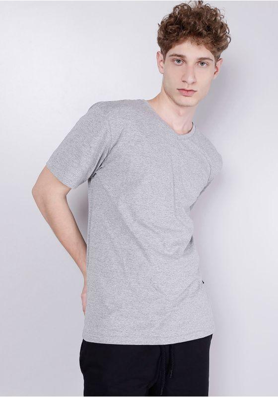 Camiseta-Basica-Gola-V-Cinza-Mescla-Cinza-G-