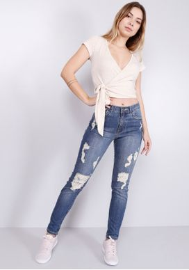 Calca-Jeans-Cigarrete-Cintura-Media-Pespontos-Azul-32