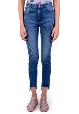 Calca-Jeans-Cigarrete-Cintura-Alta-Marmorizada-Azul-38