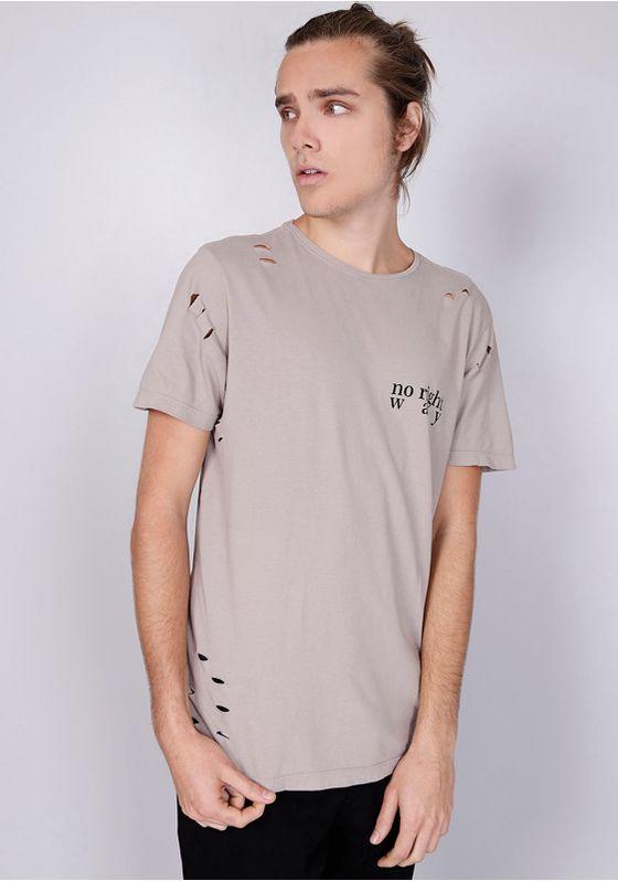 Camiseta-Comfort-Rasgos-Estampa-Peito-Bege-PP