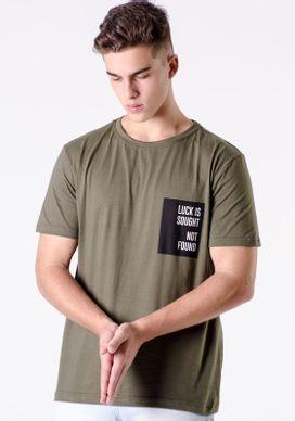 Camiseta-Verde-Silk-Escritas-No-Bolso-Verde-PP