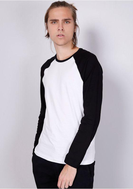 Camiseta-Basica-Manga-Longa-Raglan-Branca-Gang-Masculina-Branco-M