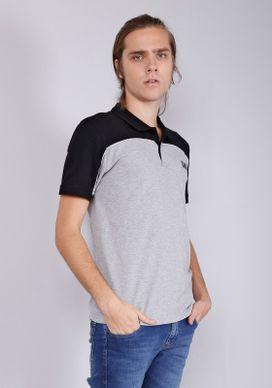Camisa-Polo-Manga-Curta-Com-Recorte-E-Friso-Branca-Gang-Masculina-Cinza-PP