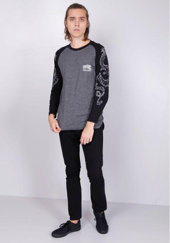 Camiseta-M-L-Raglan-Dragoes-Nas-Mangas-Cinza-PP