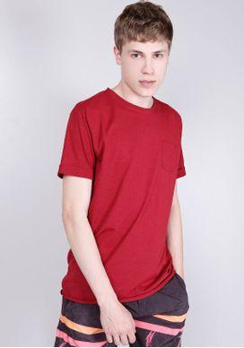 Camiseta-Basica-Alongada-Mescla-Vinho-Com-Bolso-Vermelho-PP