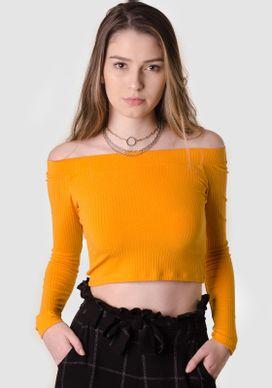 Blusa-Ombro-a-Ombro-Mostarda-Amarelo-G-
