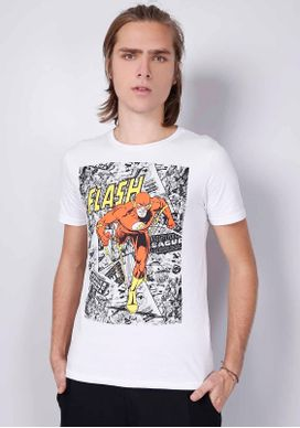 Camiseta-Manga-Curta-Flash-Branco-P