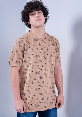 Camiseta-Manga-Curta-Full-Print-Lavada-Bege-GG