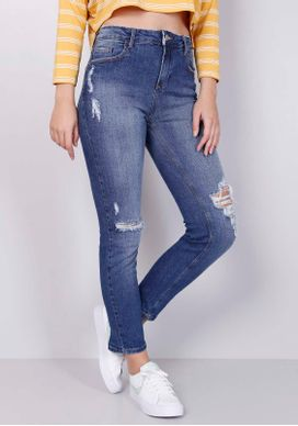 Calca-Jeans-Skinny-Cintura-Media-Rasgos-Joelho-Jeans-Diferenciada-32