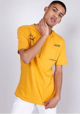 Camiseta-Estampada-Manga-Curta-Mostarda-Laranja-P