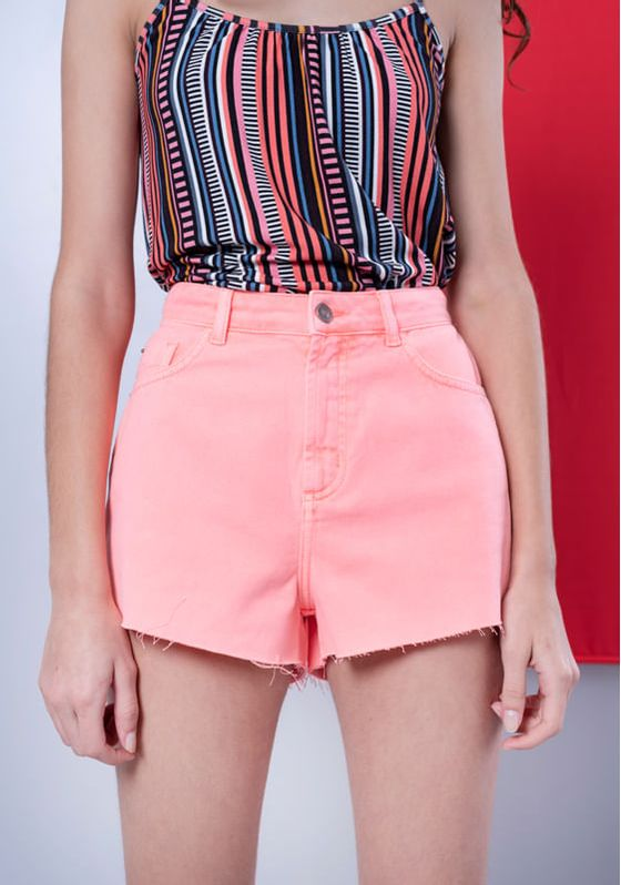 Short-Jeans-Cintura-Alta-Laranja-Neon-Laranja-32