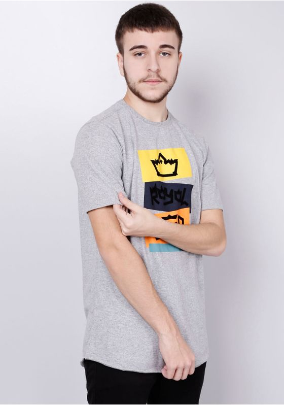 Camiseta-Estampada-Manga-Curta-Royal-Blood-Cinza-P