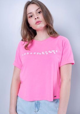 Blusa-Cropped-Estampada-Manga-Curta-Rosa-Neon-Rosa-PP