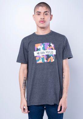 Camiseta-Estampada-Manga-Curta-Geometrico-Cinza-PP