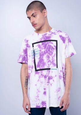 Camiseta-Estampada-Manga-Curta-Tie-Dye-Roxo-Branco-PP